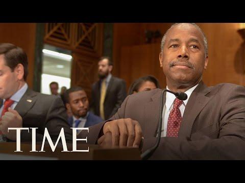 Ben Carson Defends His Credentials As Housing Secretary   TIME