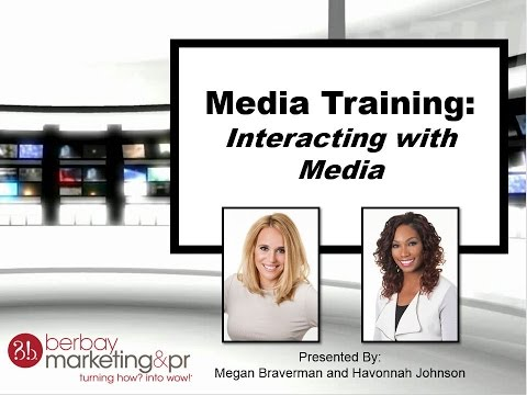 Media Training Tips Webinar