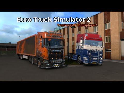 Euro Truck Simulator 2 - TruckersMP (Opname 04/10/2018)