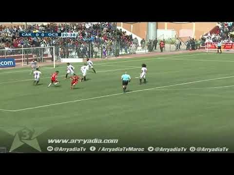 شباب خنيفرة 1-0 اولمبيك اسفي هدف أسامة الحلفي