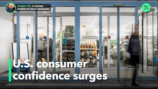 U.S. consumer confidence jumps as economy reopens