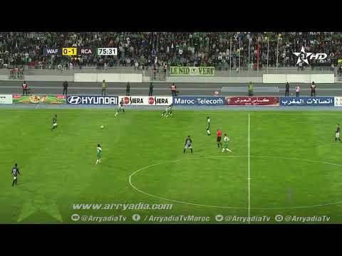 الوداد الفاسي 1-1 الرجاء البيضاوي هدف عزالدين بالة - هدف رائع -