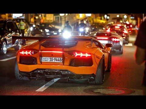 Supercars in Monaco 2017 - VOL. 20 (Liberty Walk Aventador, Pagani Huayra, Chiron, F12 TDF)