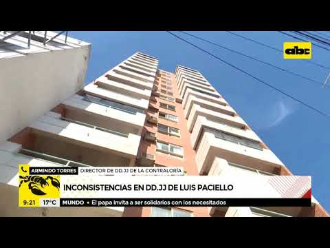 Contraloría confirma inconsistencias en declaraciones juradas de Luis Paciello