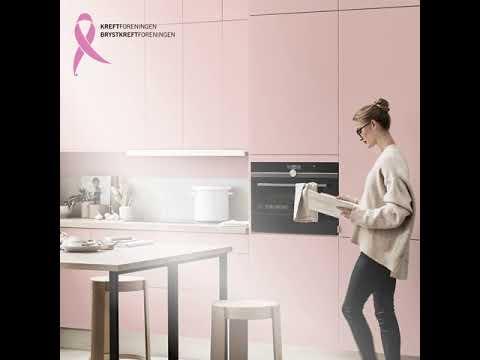 Kjøp et malt kjøkken og bli med i kampen mot kreft!