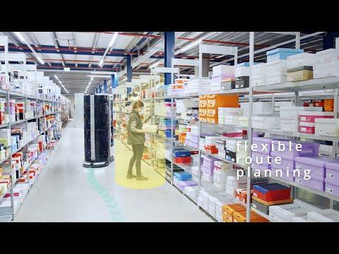 Advanced Robotics - mobile picking robots for warehouses by MAGAZINO