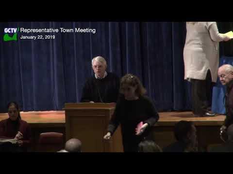 Representative Town Meeting, Jan. 22, 2019
