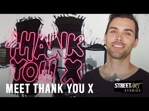STREET ART STORIES: Thank You X