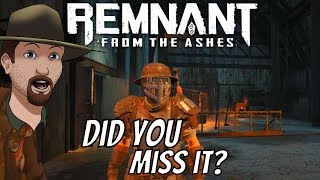 Remnant: From The Ashes- Where To Find The Starting Loot!