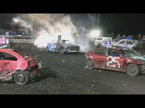 BONE STOCK FEATURE DEMOLITION DERBY NO AUDIO