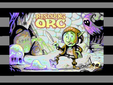 Canal Homebrew: Rescuing Orc (C64) con Reidrac