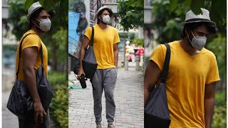Sundeep Kishan Spotted At Gym Outside Today | TFPC - TFPC