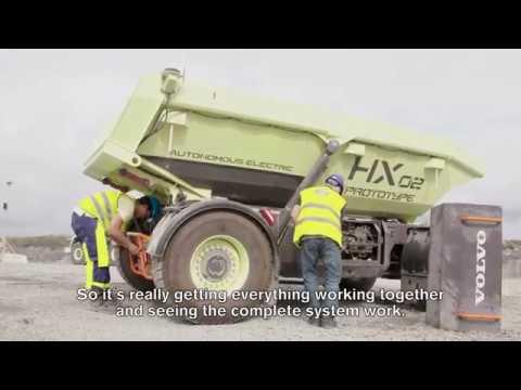 Electric Site - Volvo Construction Equipment och Skanska