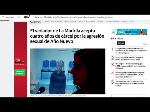 Condena al Violador de la Madrila