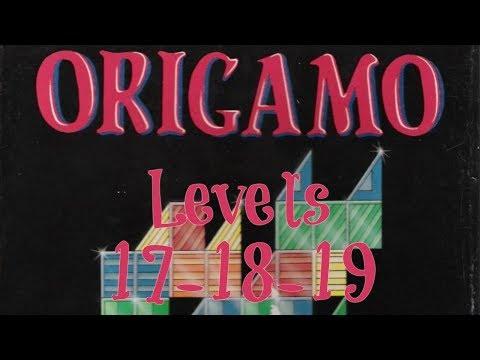 Origamo (1994) - PC - Levels 17, 18 & 19 - Basic Mode