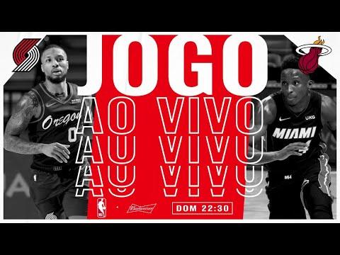 Miami Heat x Portland Trail Blazers - NBA AO VIVO