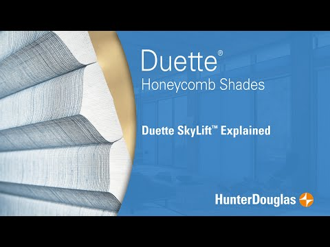 Duette® Honeycomb Shades with SkyLift™ Explained - Hunter Douglas