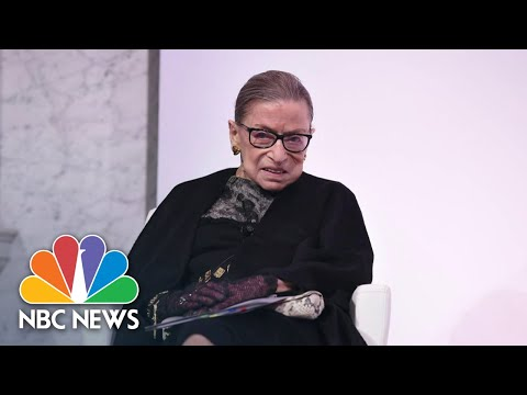 Supreme Court Justice Ruth Bader Ginsburg Dead At 87 | NBC Nightly News