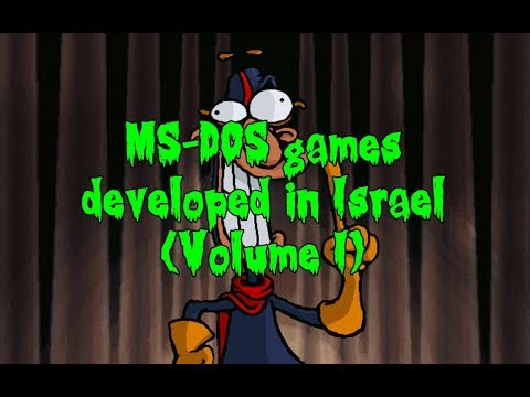 MS-DOS Games Developed in Israel (Volume I)
