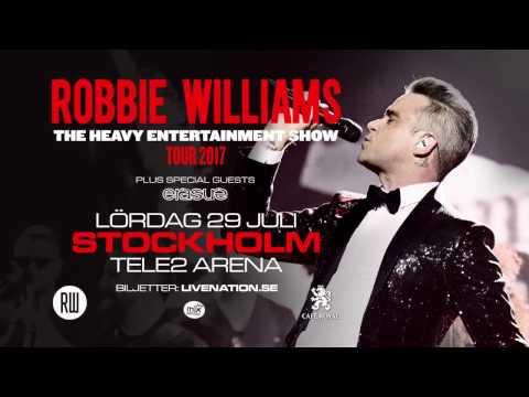 ROBBIE WILLIAMS - 29 JULI 2017 - TELE2 ARENA, STOCKHOLM