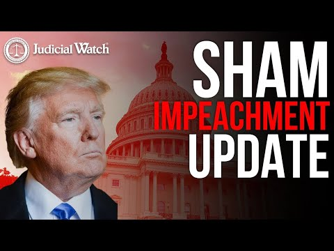 SHAM Impeachment Trial of Trump Happening SOON...
