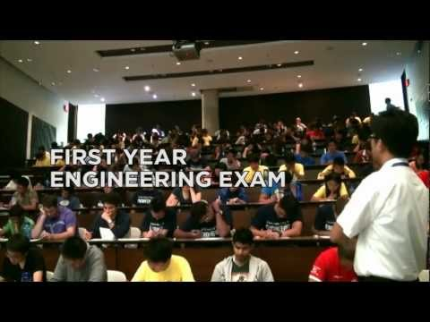 Flash Mob During An Exam!