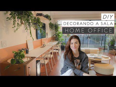 DIY Home Office – Decorando a Sala 09 (final)