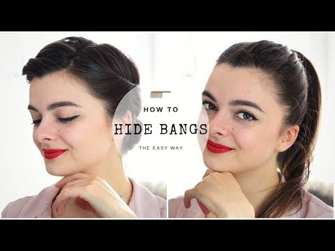 How To Hide Bangs | Four Ways
