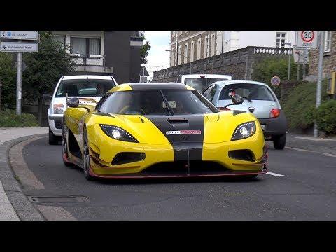 Supercars Leaving Private Car Meet! Koenigsegg, McLaren P1, Carrera GT, Aventador SV & More!