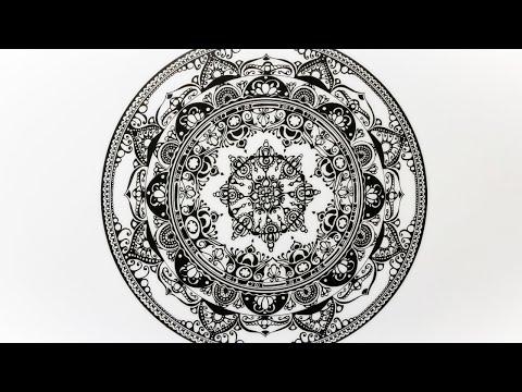 Zentangle Inspired Art #44
