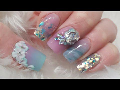 Short Acrylic Nails - My Nails - Glitterbels and CJP