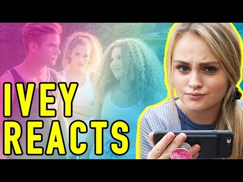 Ivey Reacts: When A Girl Likes A Boy (Haschak Sisters)