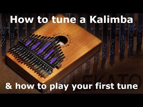 Kalimba Comment accorder un kalimba et jouer votre première mélodie