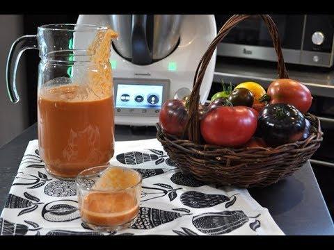 Cómo hacer gazpacho con Thermomix ®