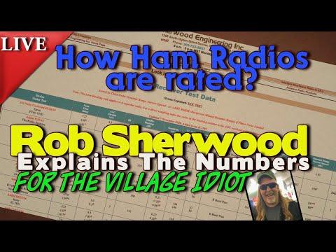 Sherwood Ham Radio Tests Explained To The Village Idiot (me)