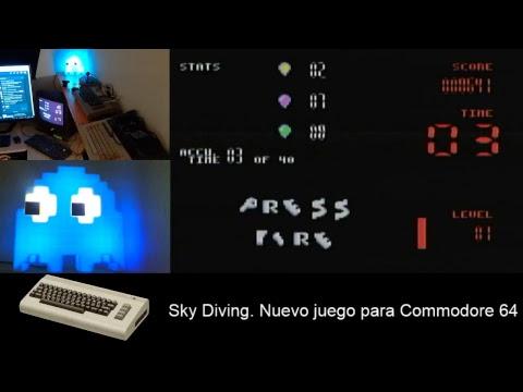 Sky Diving: Nuevo juego para Commodore 64