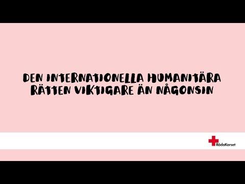 Den internationella humanitära rätten viktigare än någonsin