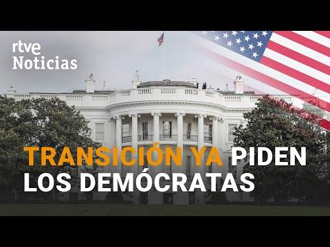 Mientras TRUMP sigue son su mantra del FRAUDE, los DEMÓCRATAS piden la TRANSICIÓN YA | RTVE