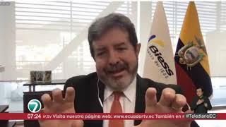 #EntrevistasTelediario | Diego Burneo, gerente general del BIESS