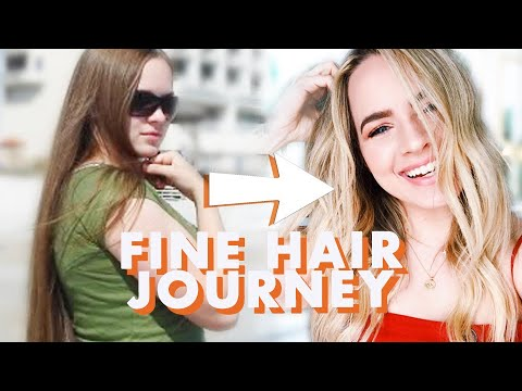 Fine Hair Tips and Tricks (My Fine Hair Journey)