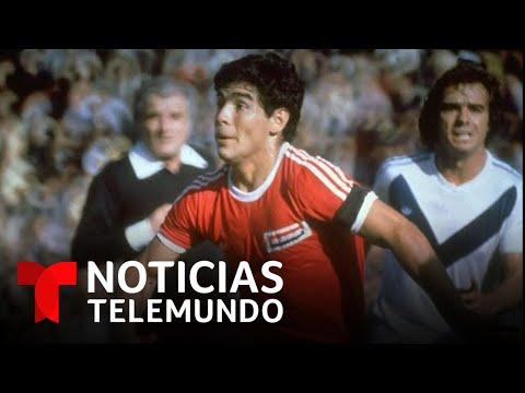 Sin dinero y bajo lluvia torrencial: así comenzó la leyenda de Maradona