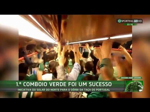 Primeiro Comboio Verde foi um sucesso - Sporting TV (22/11/2015)