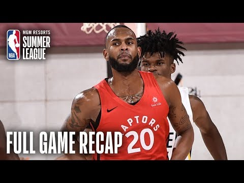 RAPTORS vs PACERS | Dewan Hernandez Propels Toronto | MGM Resorts NBA Summer League