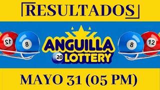 Anguilla Lottery 05 PM Resultados de Hoy 31 de Mayo del 2020 | Todas Las Loterías Dominicanas