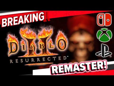 Diablo 2 bekommt ein Remaster! - Für alle Systeme!