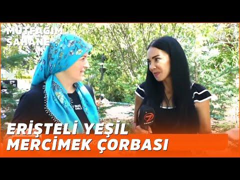 Erişteli Yeşil Mercimek Çorbası Tarifi - Özlem & Yasin ile Mutfağım Şahane