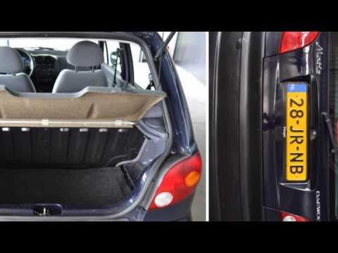 Daewoo Matiz 0.8 PURE PS St. Bekr Open dak 91dkm Inruil mogelij