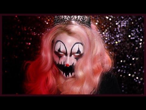 CREEPY KILLER CLOWN Halloween Makeup Tutorial
