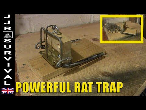Powerful Homemade Rat Trap