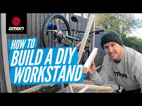 Blake Builds A DIY Mountain Bike Work Stand